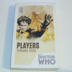 BBC Doctor Who Players Novel by Terrance Dicks 50th Anniversary Edition
